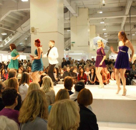 Stuart Phillips And Team Style Hair At The Ideal Home Exhibition, Plucking People From Audience With Short, Medium And Long Hair
