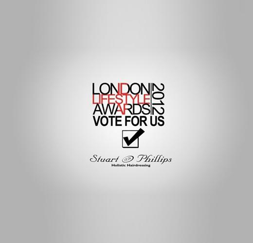 Stuart Phillips Salon is Nominated For Best Salon in London 2012