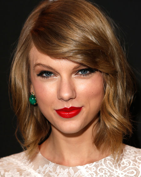 Taylor Swift's ever changing hairstyles – what do you think of her new short