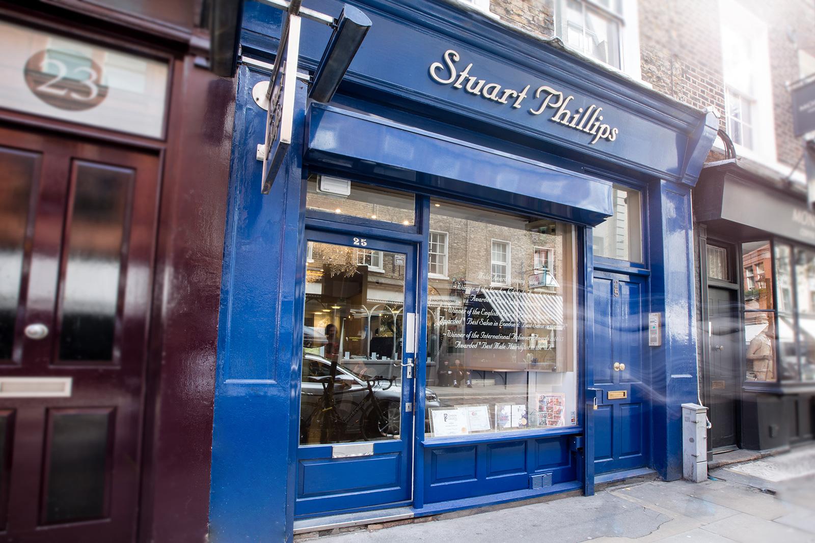 Luxury hair salon london best hairdressers uk stuart for Best hair salon london