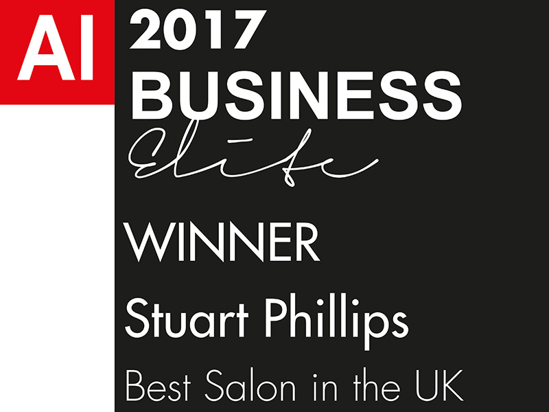 "2017 AI Business Elite Awards - Winner ""Stuart Phillips - Best Salon in the UK"""