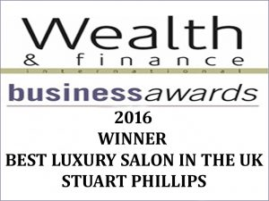 Winning 'Best Luxury Salon in the UK'