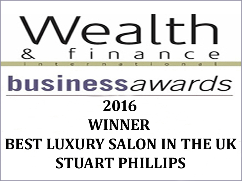 Winning 'Best Luxury Salon in the UK'