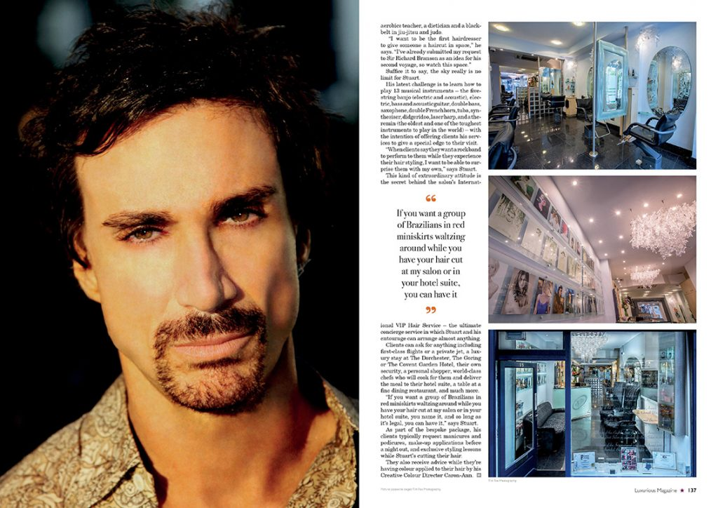 """Luxurious Magazine - """"A haircut? That'll be £25,000"""" / Page 2"""