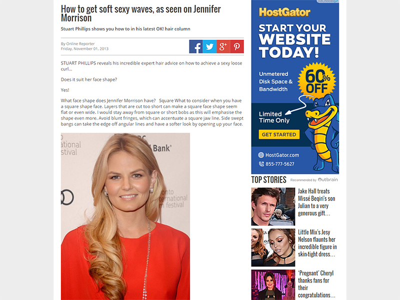 How to get soft sexy waves, as seen on Jennifer Morrison