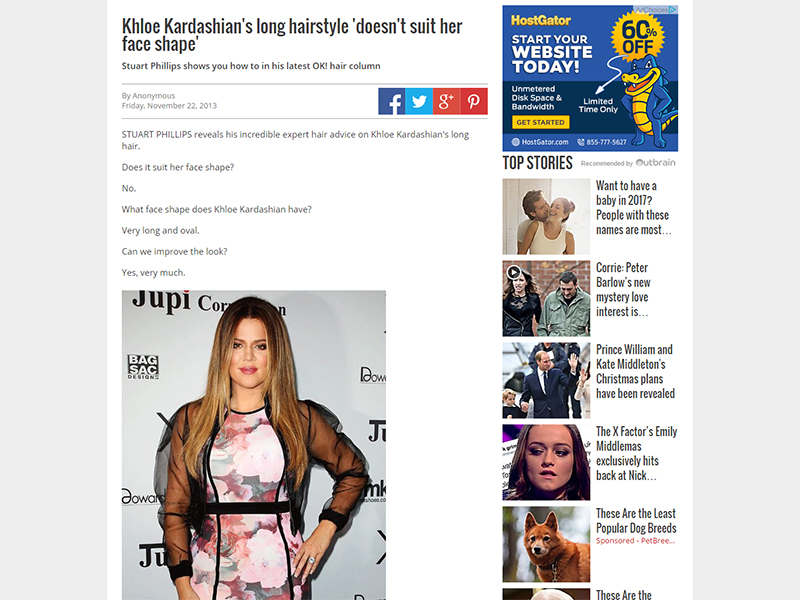 Khloe Kardashian's long hairstyle 'doesn't suit her face shape