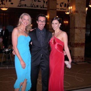 Anna Walker and Jane Middlemiss at The Savoy Before BAFTA 2004-2005