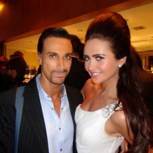 Charlotte Dawson Les Dawson's Daughter Me at the London Lifestyle Awards
