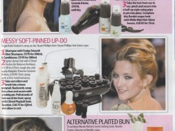 To get Kate Hudson`s sexy up-do, Stuart Phillips from Stuart Phillips Hair Salon says: