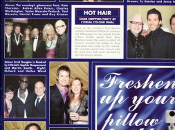 Celeb Snippers Party at L`Oreal Colour final