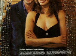 Shobna Gulati and Stuart Phillips