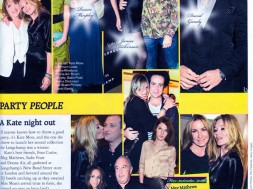 Stuart Phillips at Kate Moss party 2010