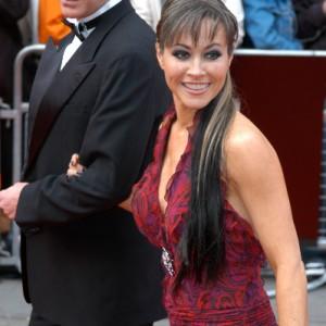 Styled Amanda Mealing's Hair with Paul O'Grady for Bafta TV Awards