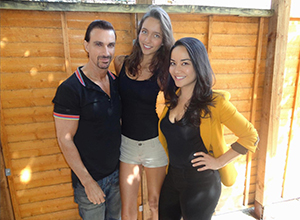 Radio presenter Stuart Phillips from Guess Radio interviews owner of Model Advice Emily Fisher, with model Maria Burton Humberstone and one of Emily's expert hypnotherapist's Sarah Collier!