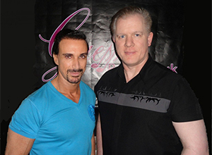 Radio presenter Stuart Phillips from Guess Radio interviews one of the world's leading martial arts experts George Fitzgerald!