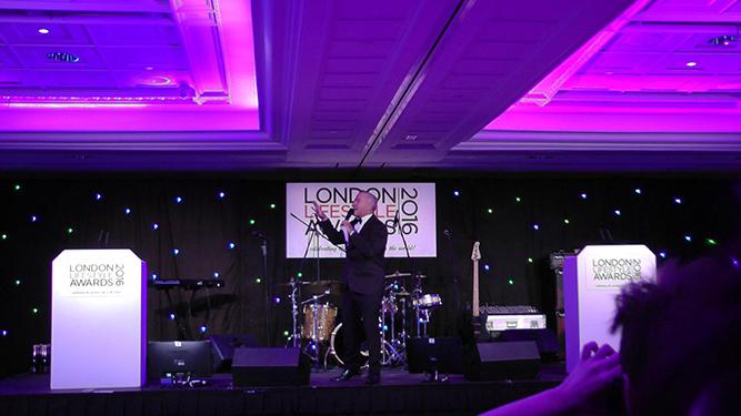 Presenter Chris Hopkins