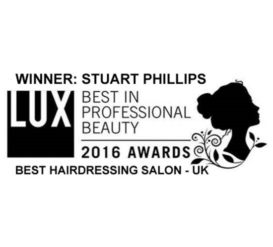STUART PHILLIPS SALON WINS THE BEST IN PROFESSIONAL BEAUTY AWARDS