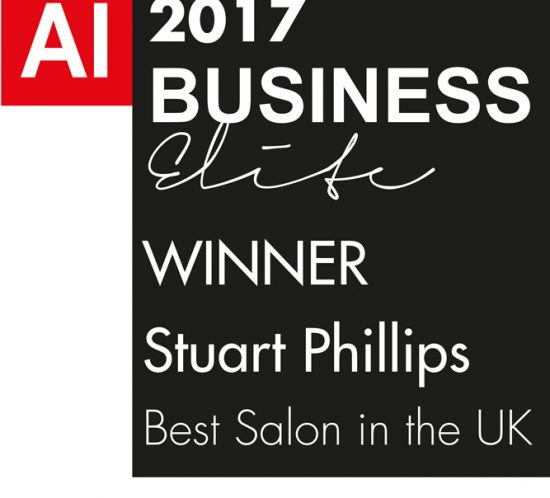 STUART PHILLIPS WINS BEST SALON IN THE UK 2017